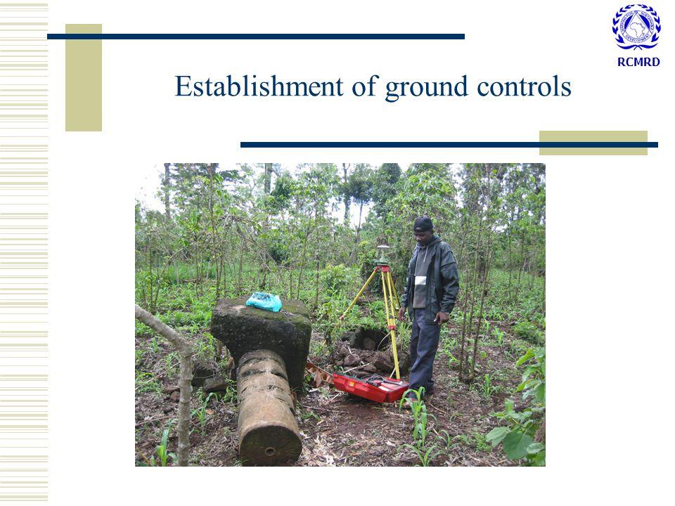 RCMRD Establishment of ground controls