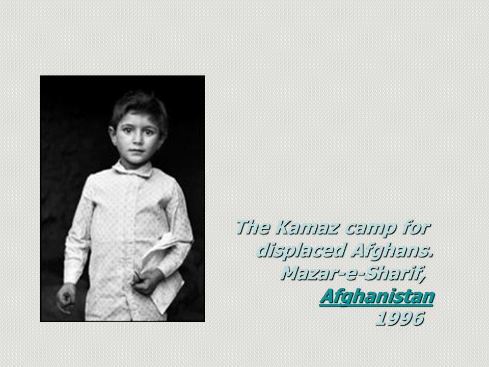 The Kamaz camp for displaced Afghans. Mazar-e-Sharif, Mazar-e-Sharif, Afghanistan AfghanistanAfghanistan 1996
