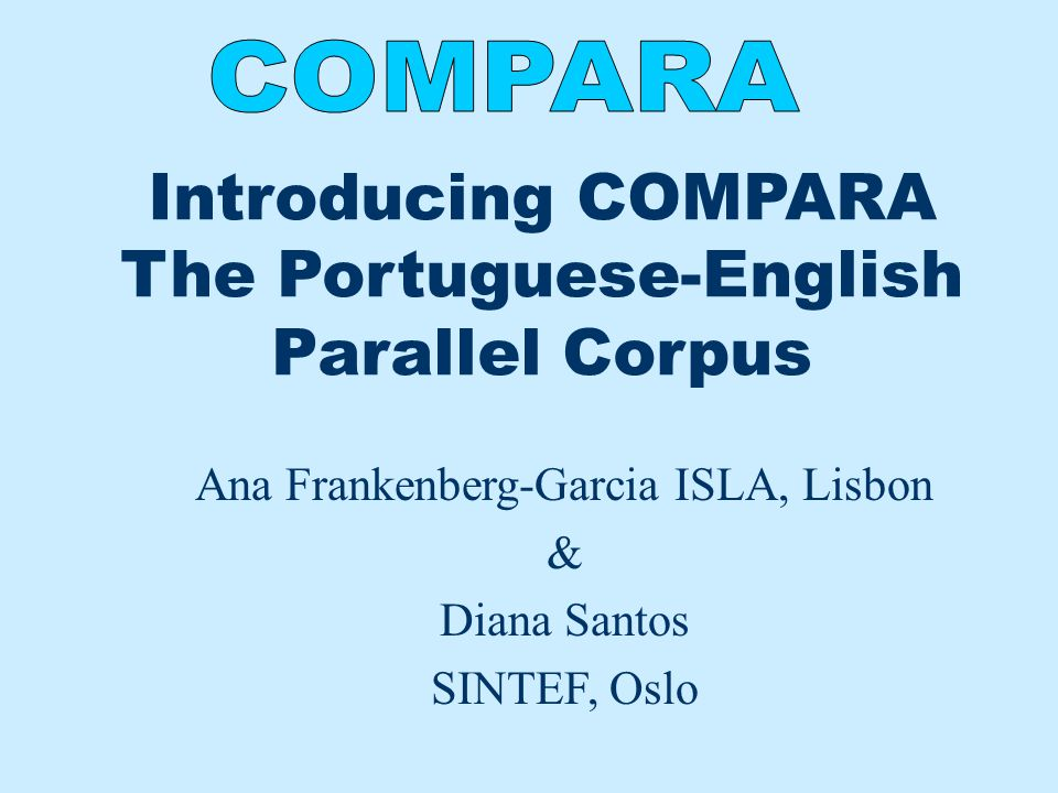 What is COMPARA.