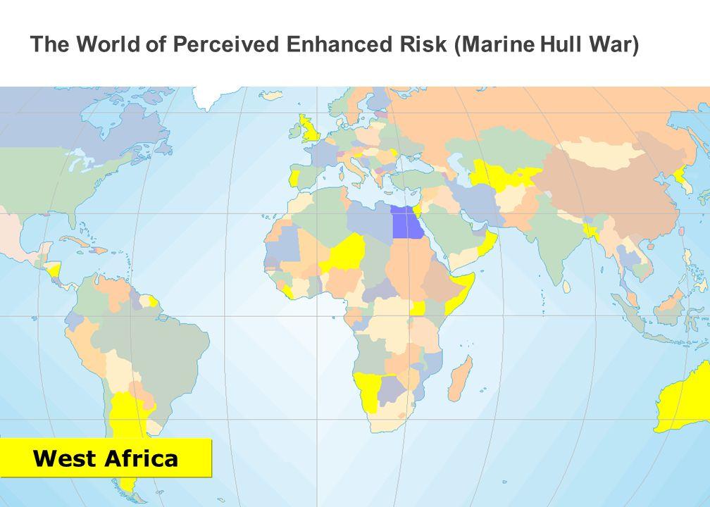 4 Marsh ISRAEL GEORGIA LEBANON Click to see next area The World of Perceived Enhanced Risk (Marine Hull War) Black Sea and Mediterranean Area