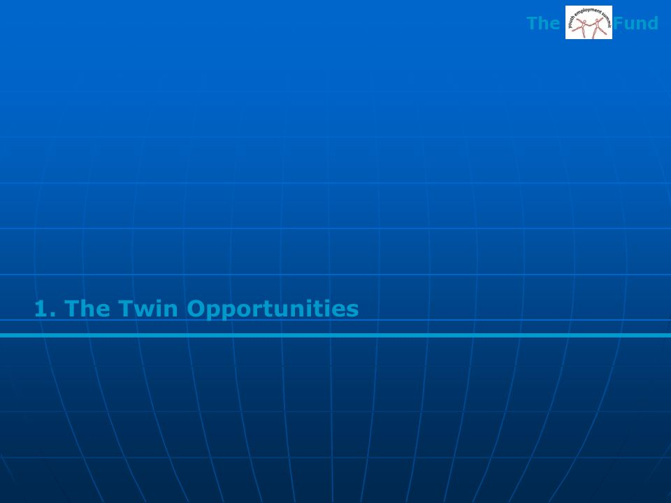 1. The Twin Opportunities The Fund