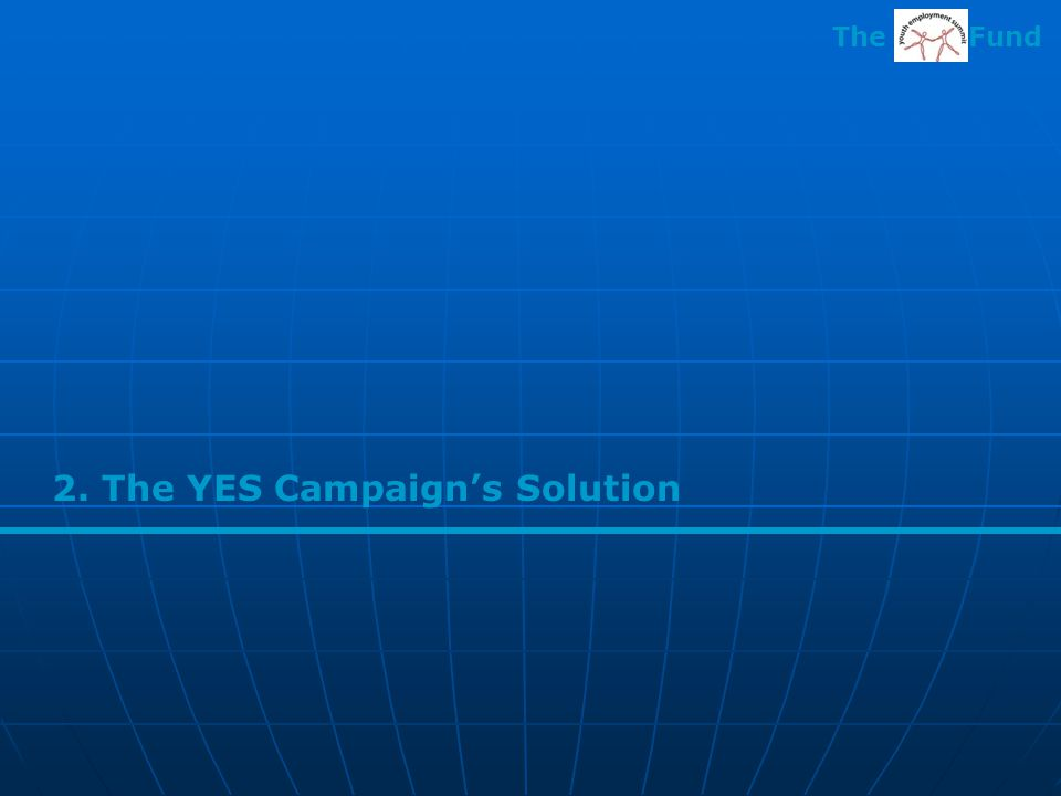 2. The YES Campaign's Solution The Fund