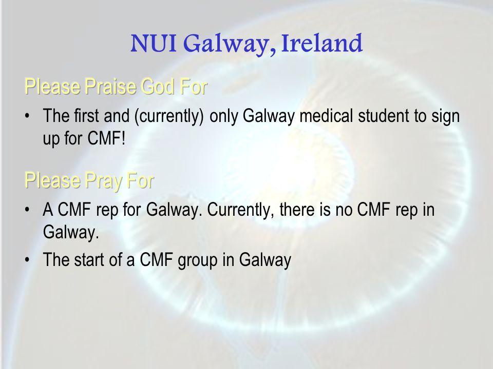 NUI Galway, Ireland