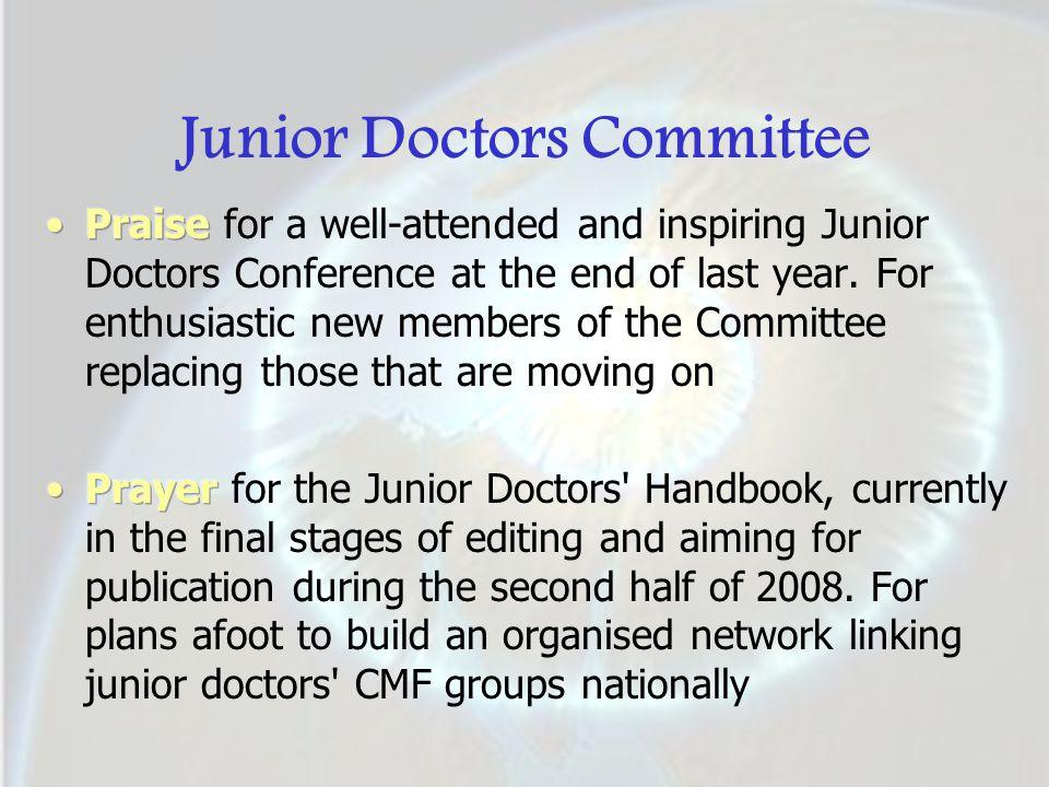 Junior Doctors Committee