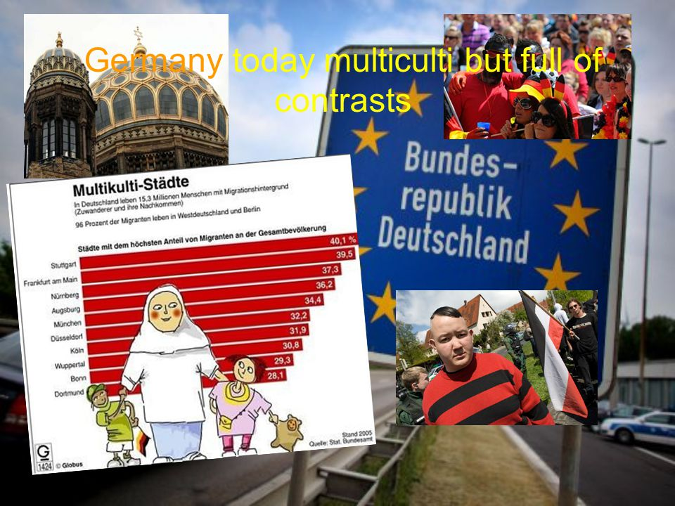 Germany today multiculti but full of contrasts