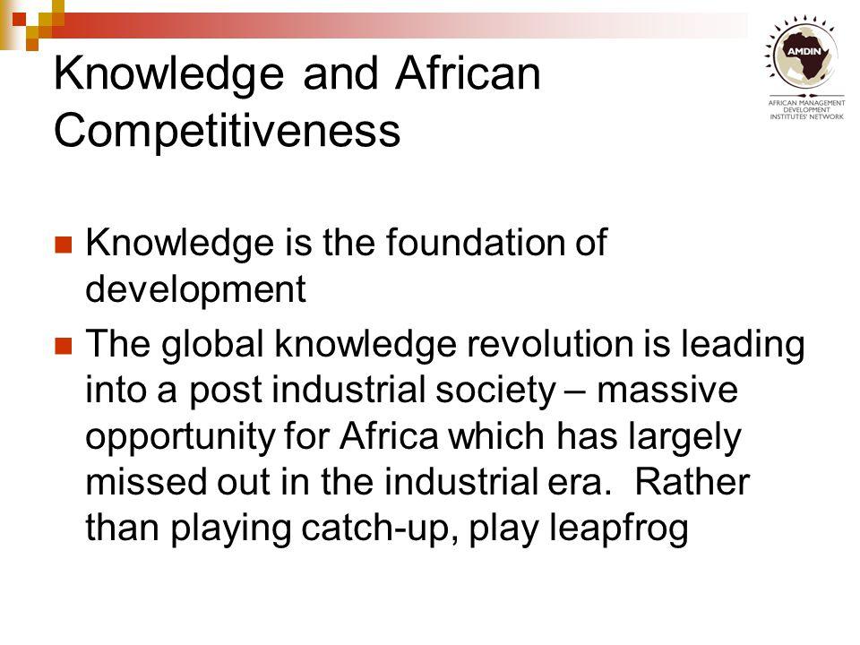 Knowledge & development at work 19581966197419821990 Korea Ghana Difference attributed to knowledge Difference due to physical and human capital