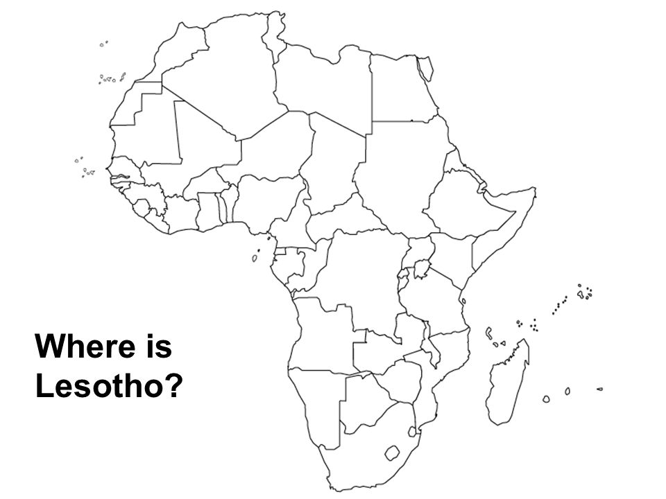 Where is Lesotho?