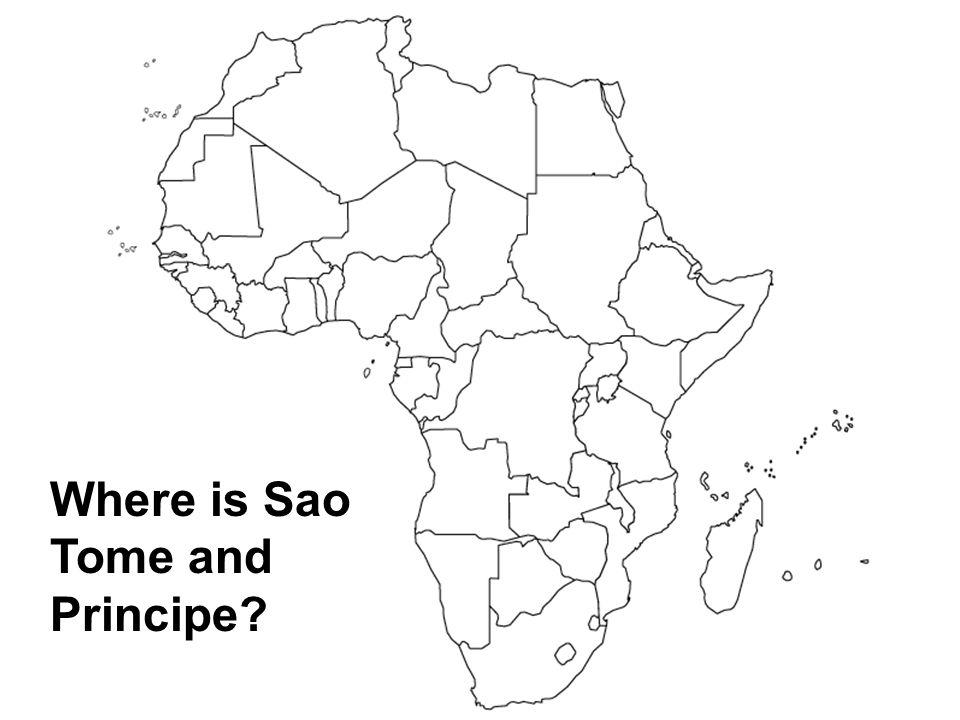 Where is Sao Tome and Principe?