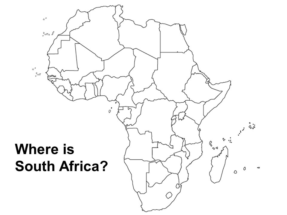 Where is South Africa?
