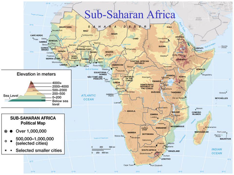 Oil and mineral producers  Oil  Nigeria, Gabon, Cameron  Republic of Congo  Equatorial Guinea  Mineral resources  Diamond - Namibia, Botswana