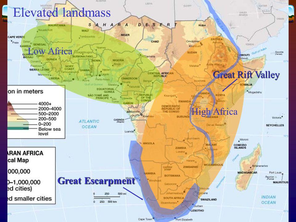 Poorest states  Sahel  Mali, Burkina Faso, Niger, and Chad  Horn of Africa  Ethiopia, Eritrea, and Somalia  Conflict-afflicted states  Burundi, Rwanda, Sierra Leone, Liberia, Angola, and the Democratic Republic of the Congo  Etc.