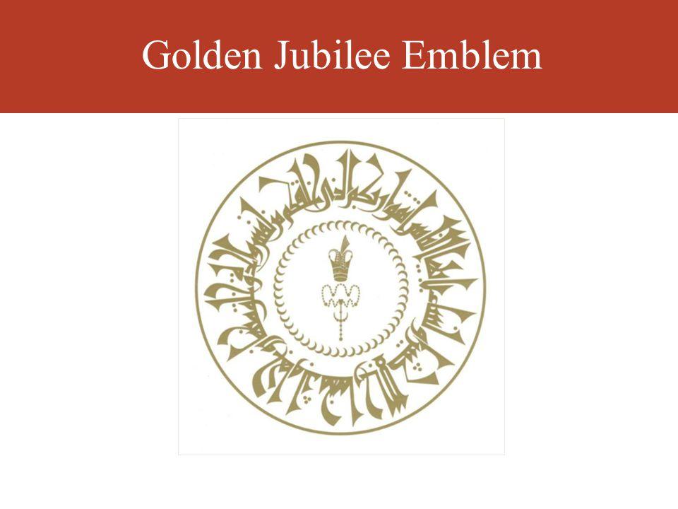 Golden Jubilee Emblem