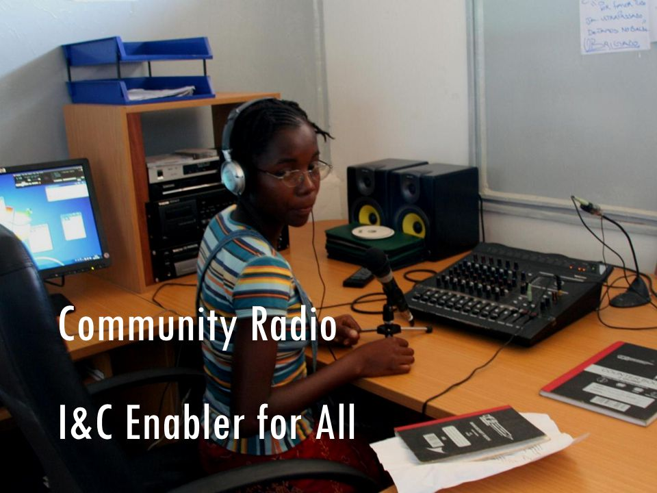Community Radio I&C Enabler for All