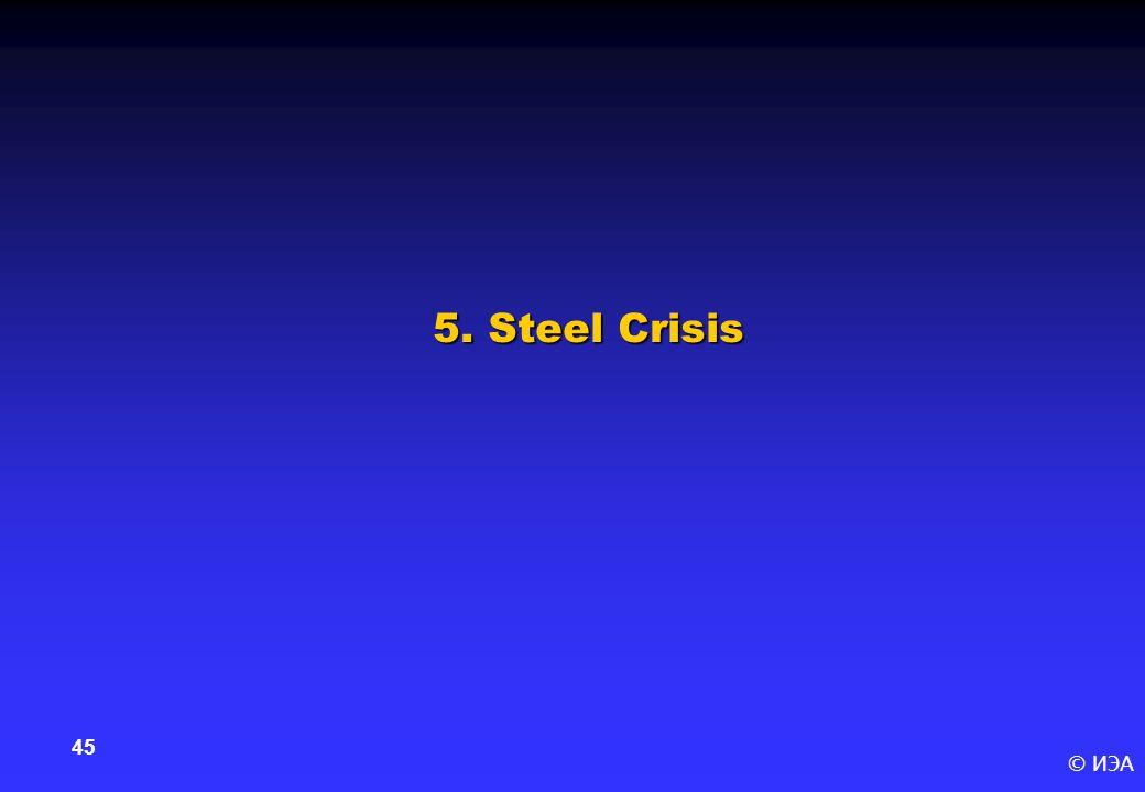 © ИЭА 45 5. Steel Crisis