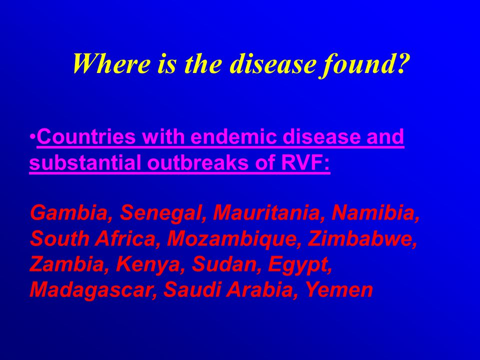 How is RVF prevented.