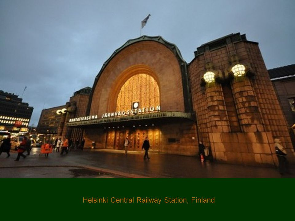 Helsinki Central Railway Station, Finland