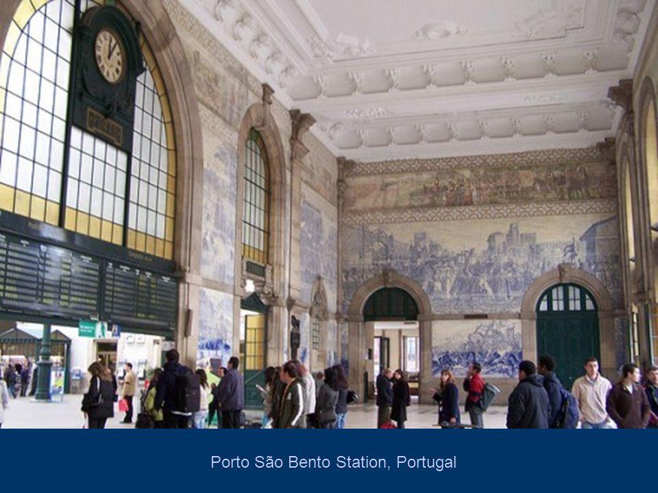 Porto São Bento Station, Portugal