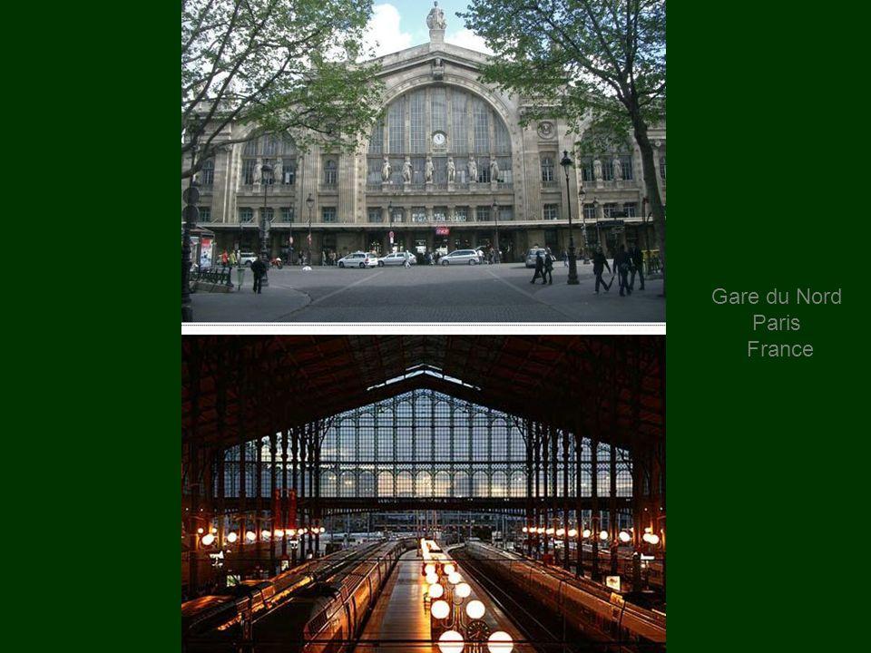 Gare du Nord Paris France