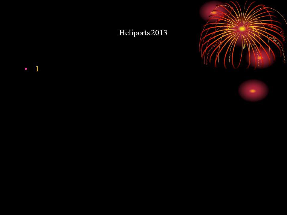 Heliports 2013 1
