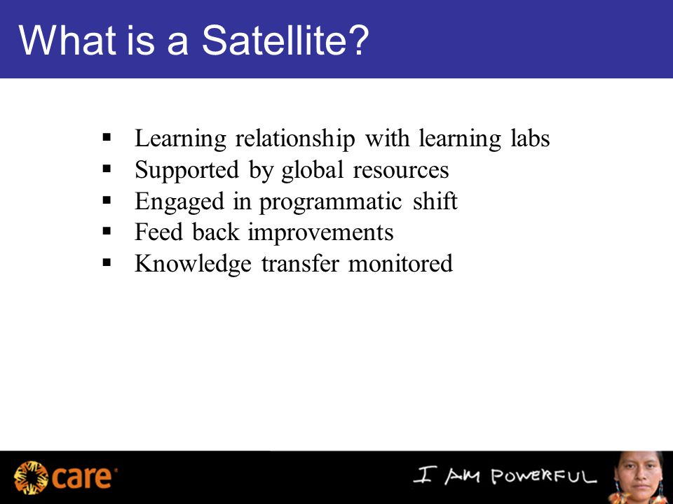 What is a Satellite.