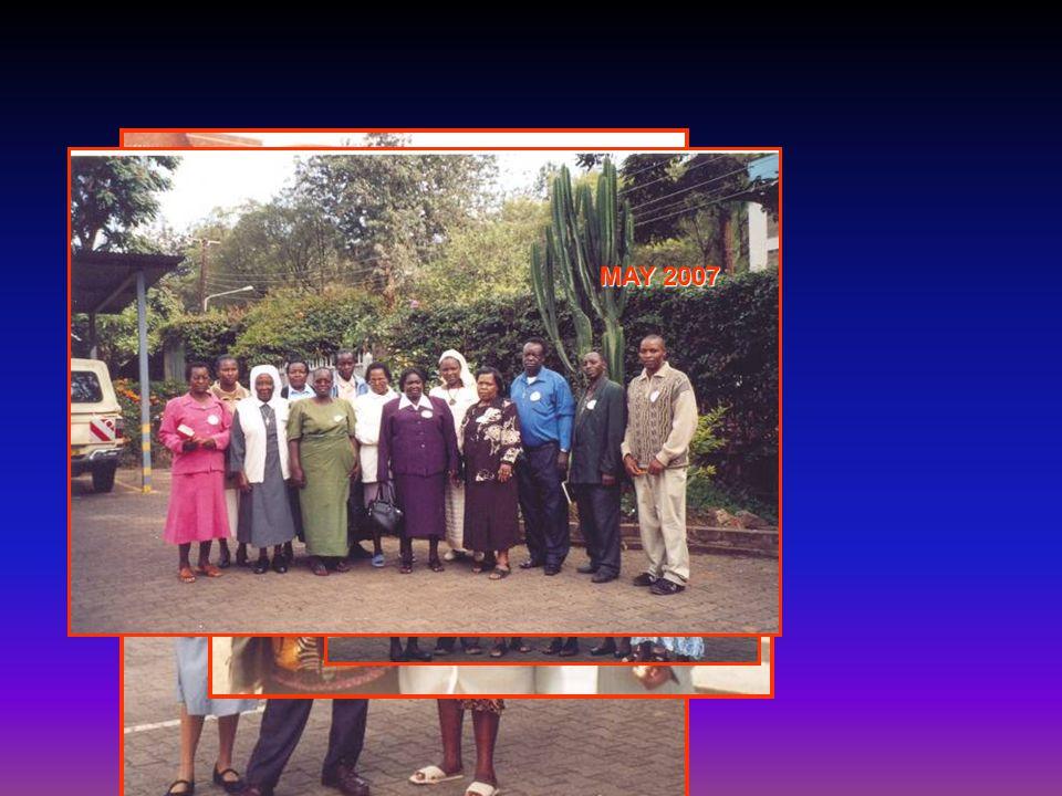 NAIROBI MAY 2007 THE EUCARIST LITURGY The Celebrant: Fr. Gigi Anatalone