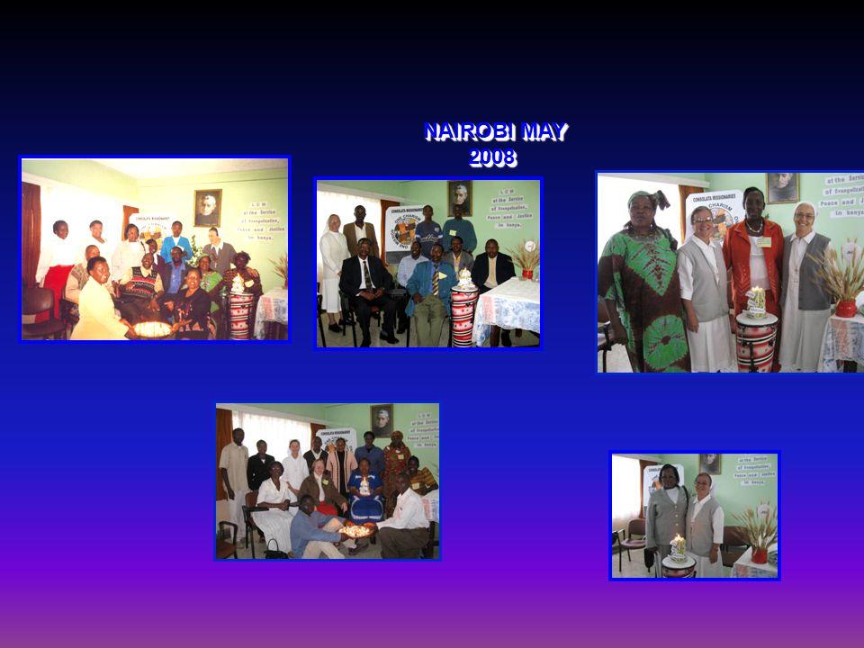 CLM SEMINAR NAIROBI MAY 2008 HOLY MASS BY FR. ANTONIO BELLAGAMBA IMC