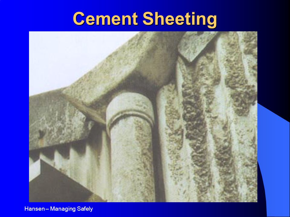 Hansen – Managing Safely Cement Sheeting