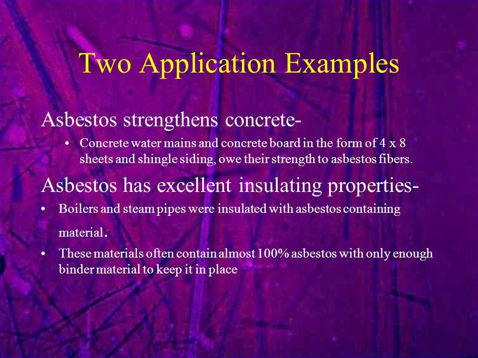 Hazardous Characteristics.What makes asbestos dangerous.
