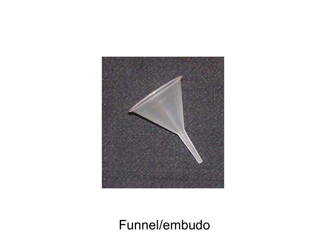 Funnel/embudo