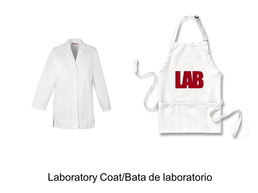 Laboratory Coat/Bata de laboratorio
