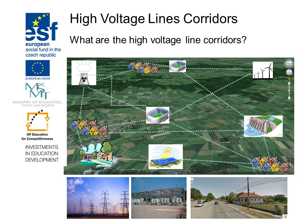 High Voltage Lines Corridors What are the high voltage line corridors?