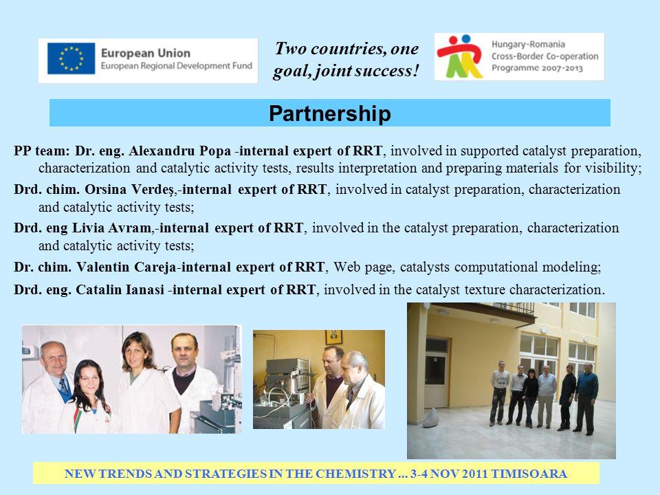 Partnership PP team: Dr.eng.
