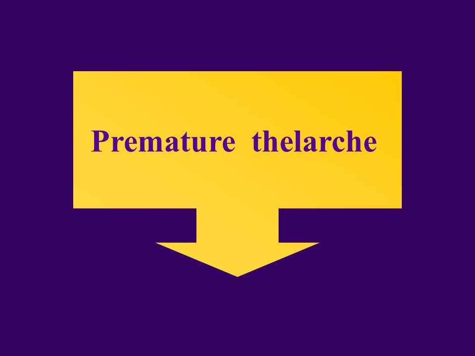 Premature thelarche