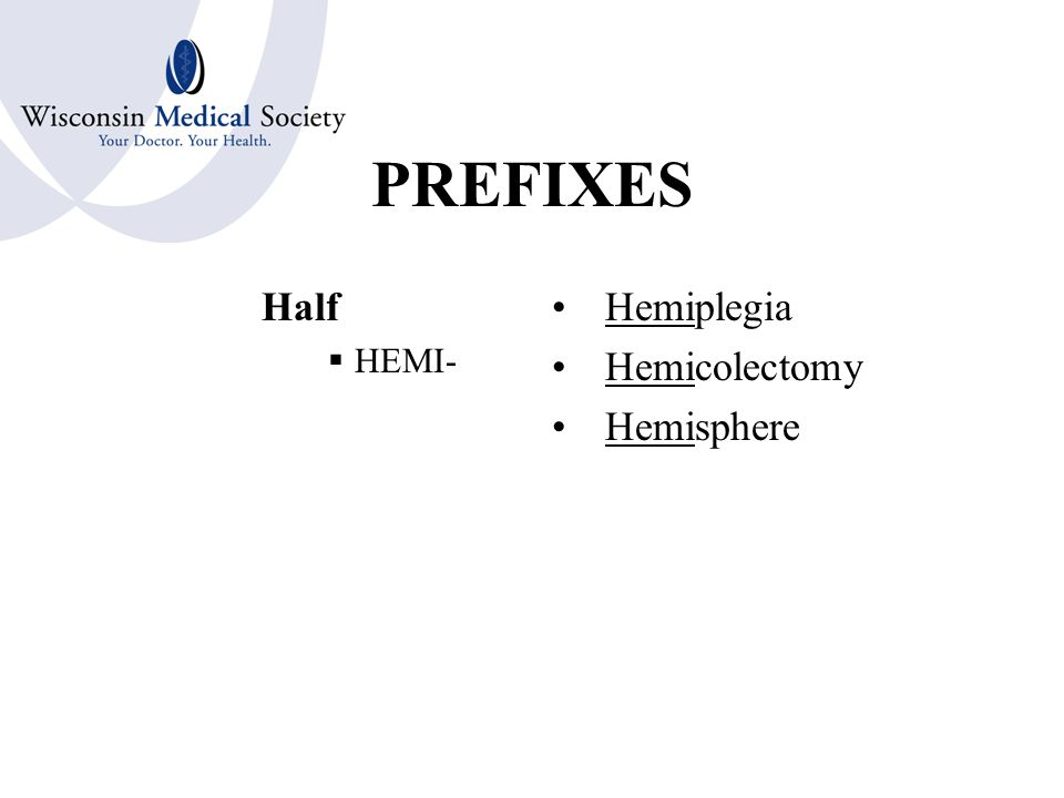PREFIXES Out  EX-  EXO- Excretion Exopathy Exfoliate
