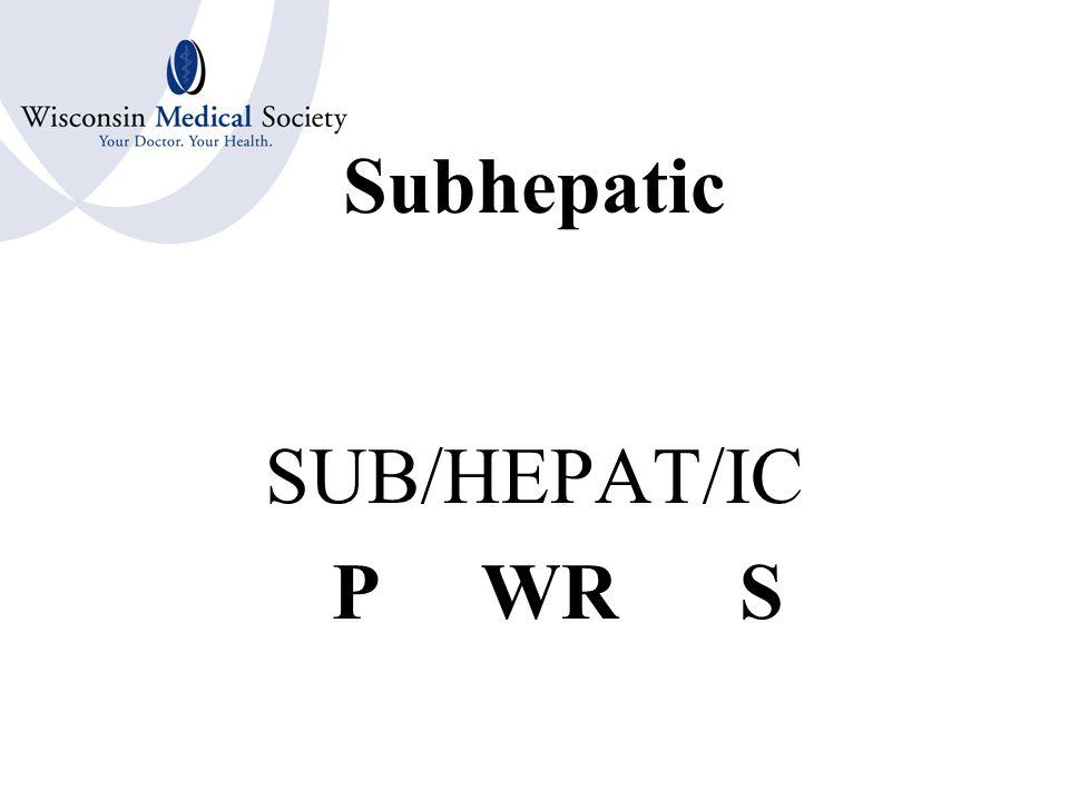 Hepatitis HEPAT/ITIS WR S