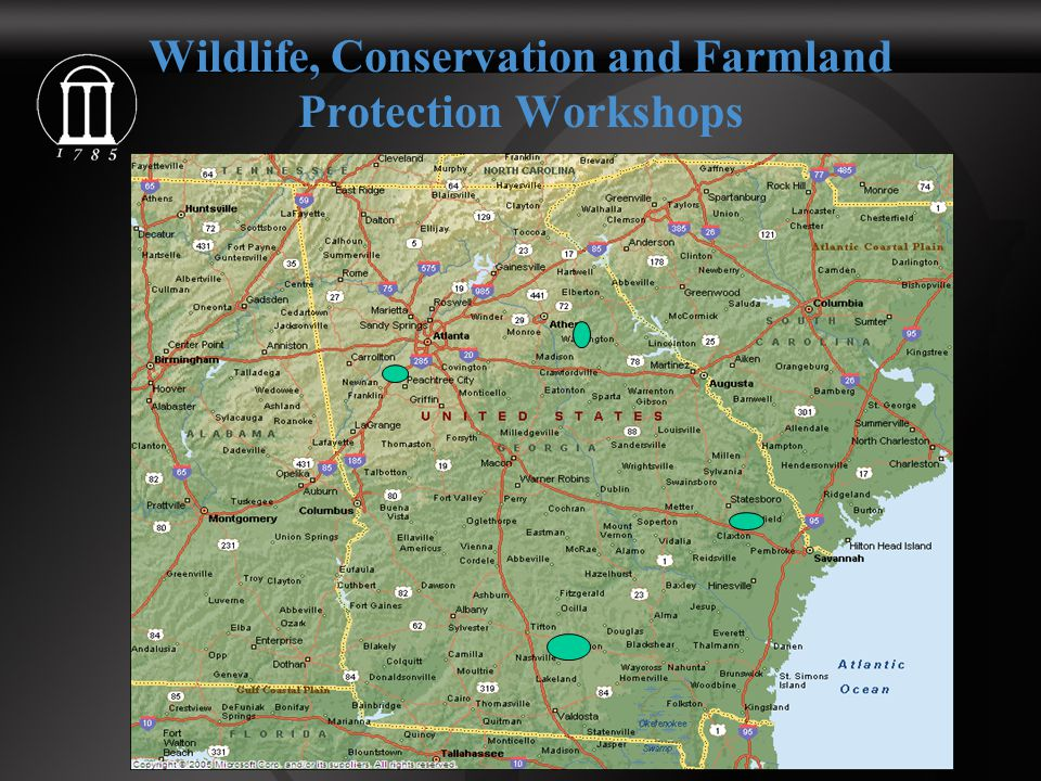 Wildlife, Conservation and Farmland Protection Workshops