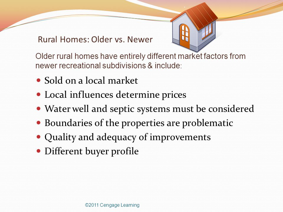Rural Homes: Older vs.