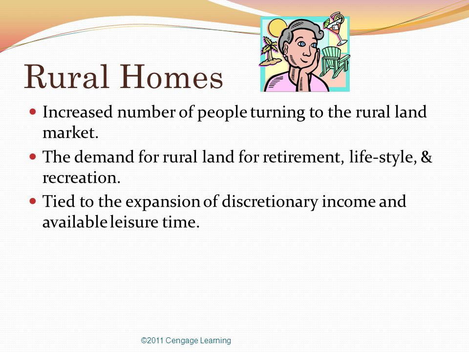 Rural Homes Increased number of people turning to the rural land market.