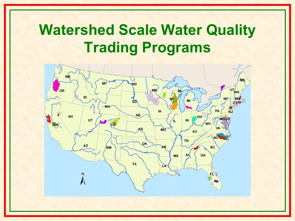 Watershed Scale Water Quality Trading Programs