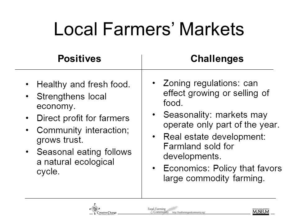 Urban Gardening Positives Access to fresh food for people living in urban areas.