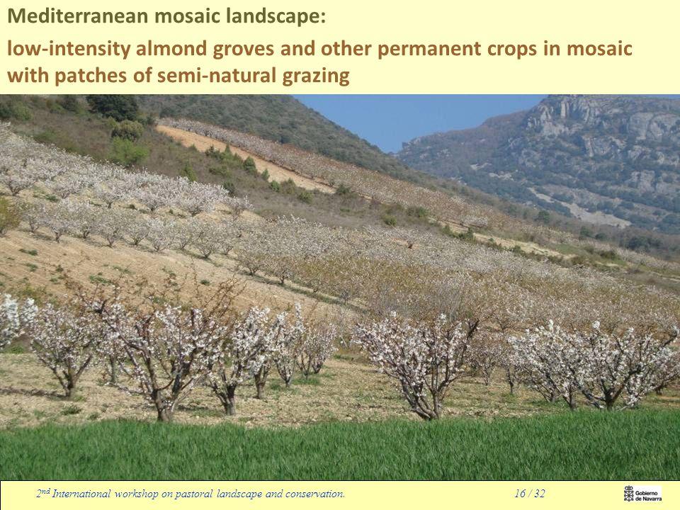 2 nd International workshop on pastoral landscape and conservation.