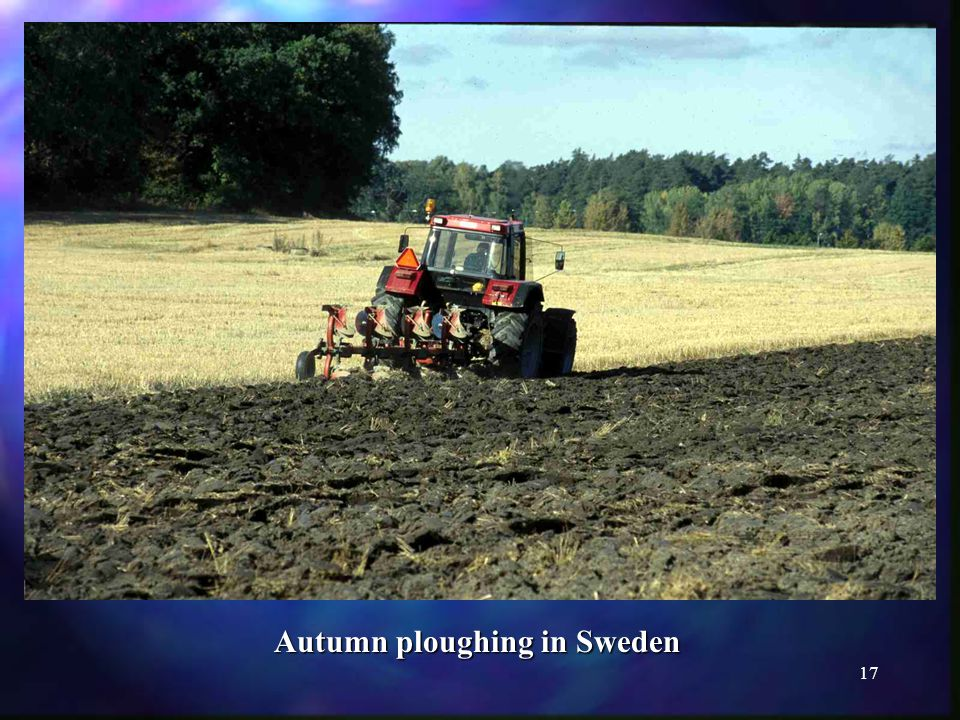 17 Autumn ploughing in Sweden