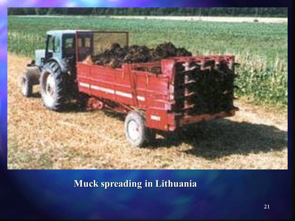 21 Muck spreading in Lithuania