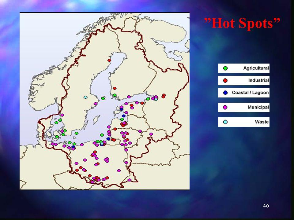 46 Hot Spots