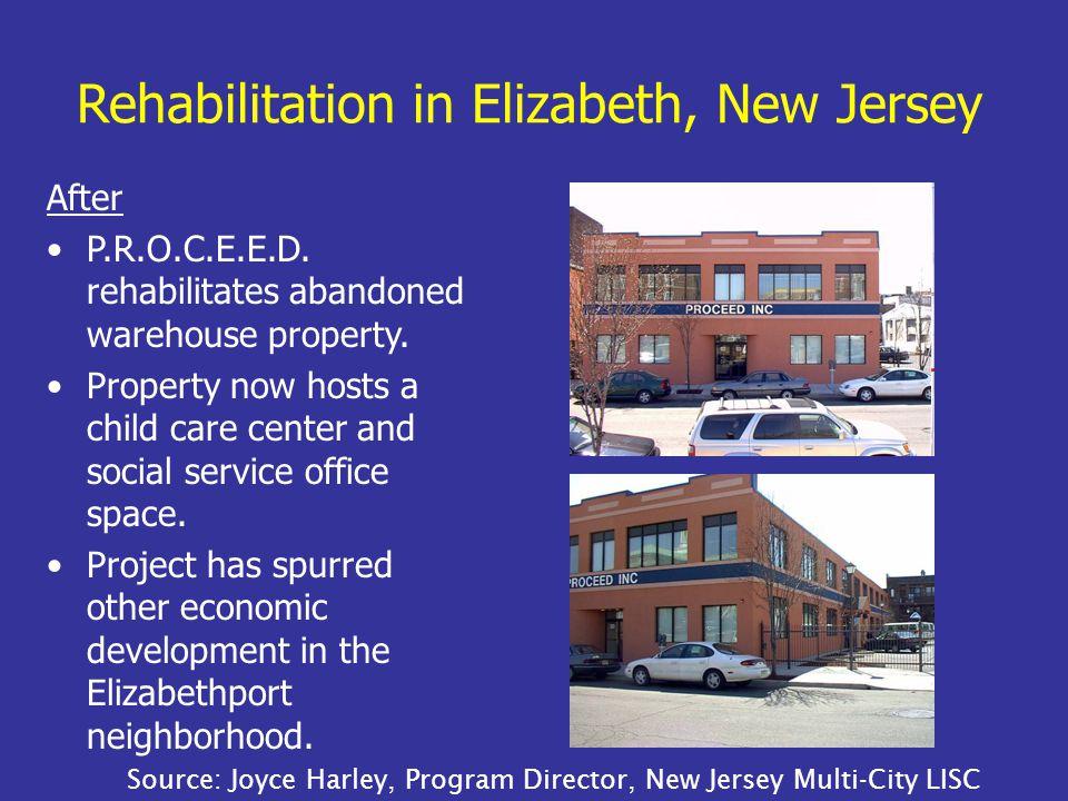 After P.R.O.C.E.E.D. rehabilitates abandoned warehouse property.