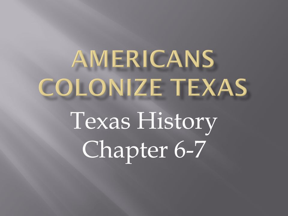  Texas colonists thought they needed slaves for all of these reasons EXCEPT:  A.