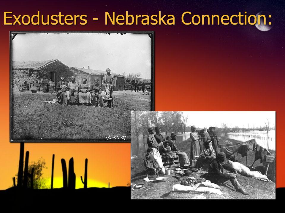 Exodusters - Nebraska Connection: