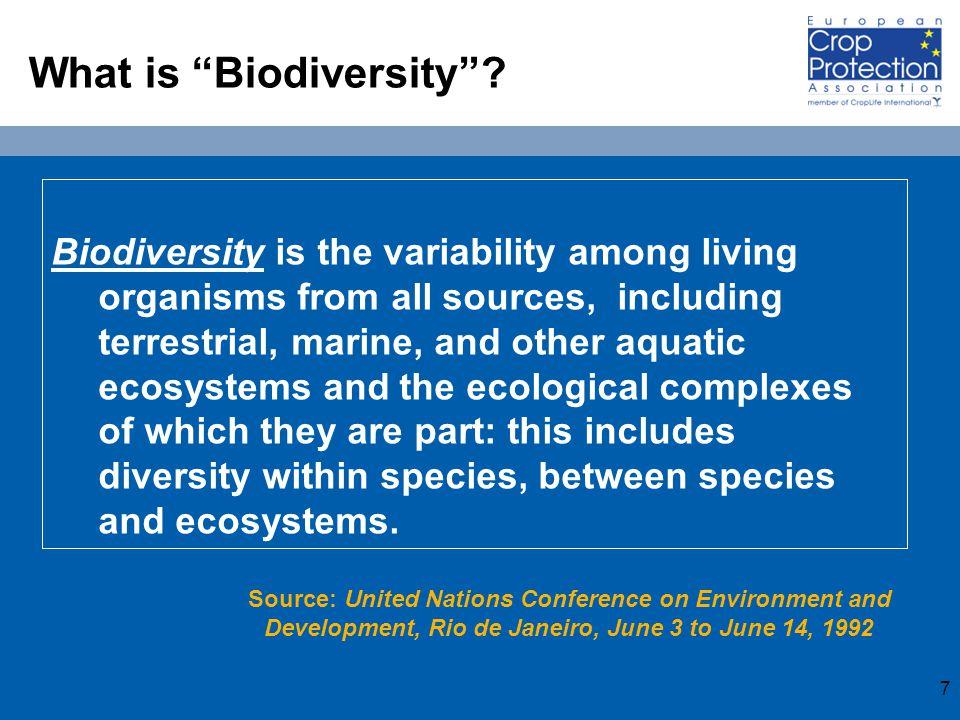 7 What is Biodiversity .