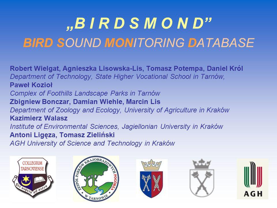 Reasons for avian monitoring 1.Maintenance of biodiversity.