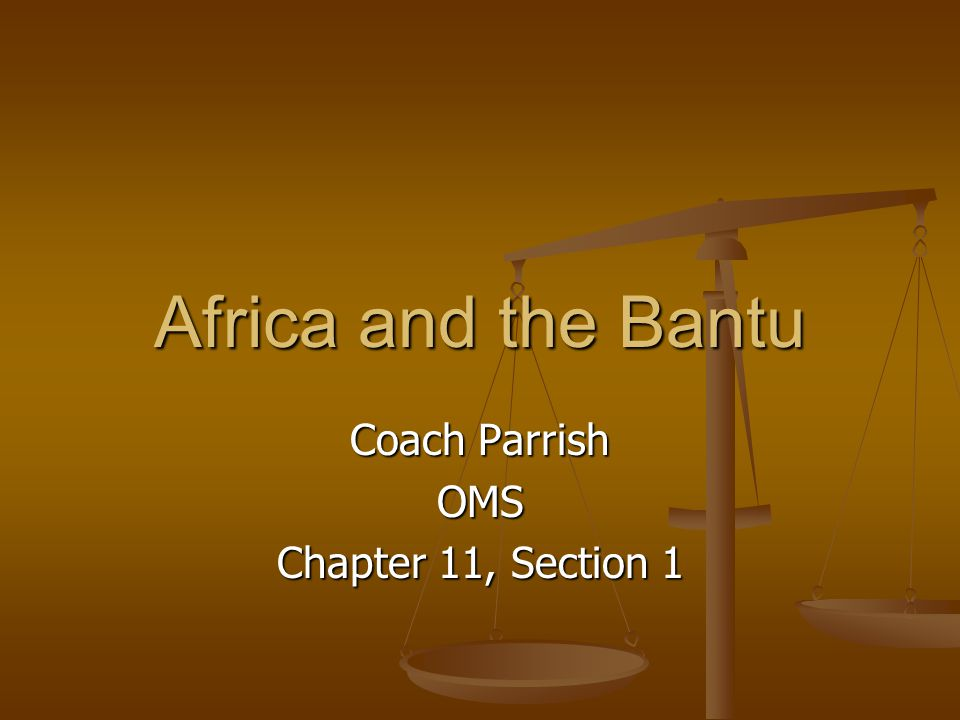 Spread of Bantu Culture As the Bantu migrated into new areas, their culture spread with them.